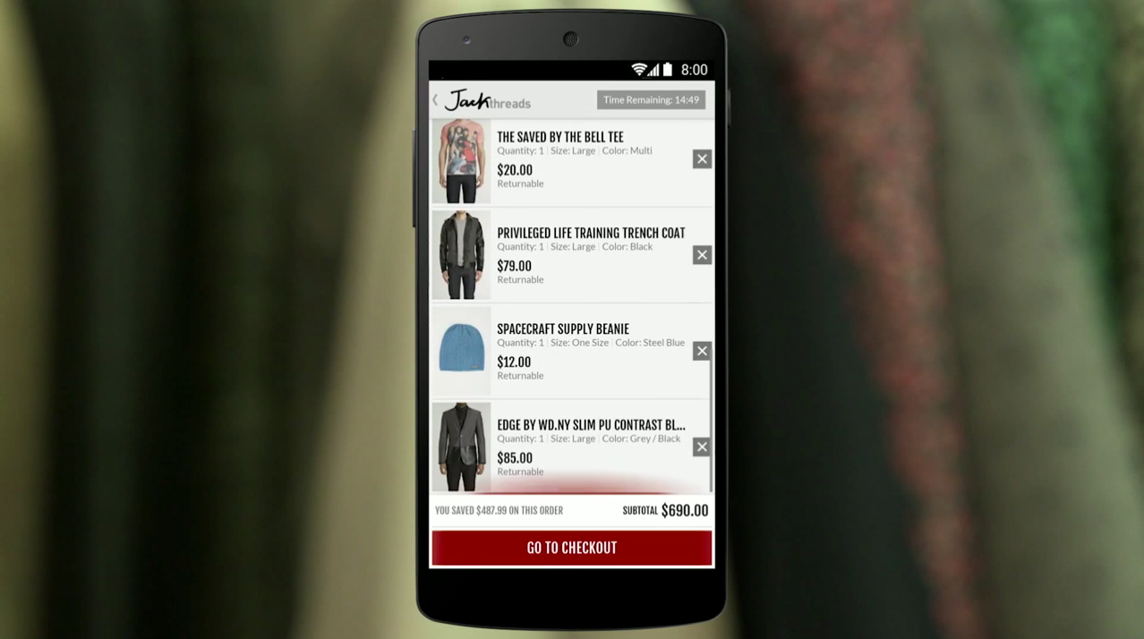 Android Developer Story: JackThreads(psst! it's using the Edge